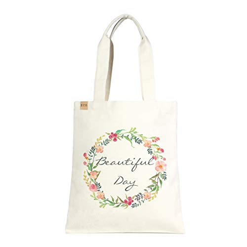 Me Plus Eco-Friendly Canvas Printed Fashion bags/Travel Shoulder Tote Bag/Shopping,School and Office use