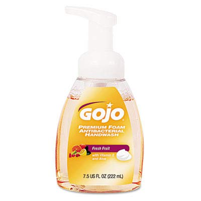 GOJO Premium Foam Antibacterial Hand Wash, Fresh Fruit Scent