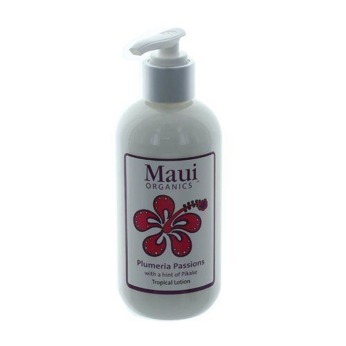 Maui Organics Tropical Lotion, Plumeria Passions, 8.5 Ounce by Maui - Perth Maui