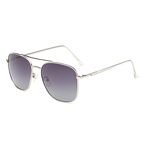 forma Hombres Gafas Moda de cuadrada de Coolsir Mujeres conducción unisex 2 gafas sol protección Gafas UV400 de polarizadas wqgv1pYx