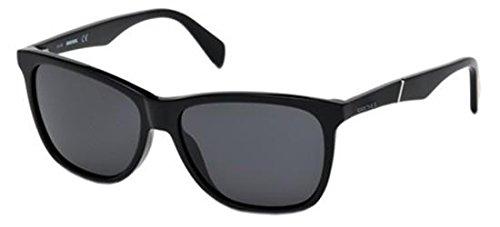 Sunglasses Diesel DL 222 DL 0222 01A shiny black / smoke