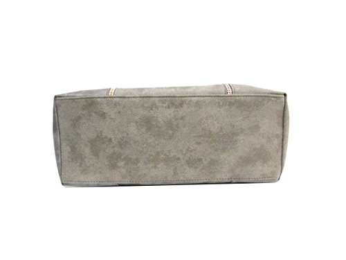 Borsa donna Coveri Collection shopping a spalla 172229-4 cemento