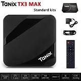 SreeTeK™️ TANIX MAX 2GB/16GB Android 7.1 Mini PC, Android TV Box Supports JIO TV & HotStar Apps, Bluetooth 4.2 UHD 4K 1080P Smart TV Box TX3 Mini X96 Mini MXQ Pro TX3 MAX