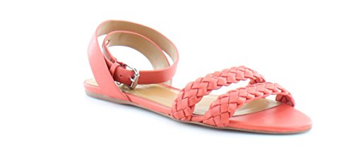 9dd4d2181 Coach Womens Scarlett Leather Open Toe Casual Ankle Strap Sandals ...
