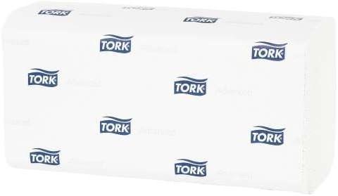 Tork Advanced ZZ-Handtücher weiß 2-.lg. 25x23cm 15 x 250 Blatt