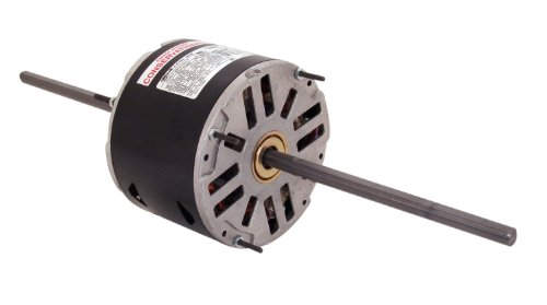 Century SA1056 Fan Coil with 5.6-Inch Frame Diameter, 1/2-HP, 1075-RPM, 208-230-Volt, 2.7-Amp and Sleeve Bearing