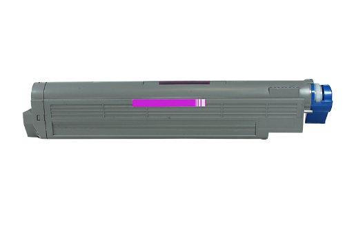 Printyo® Toner 42918914 magenta kompatibel für Drucker Oki C 9600 HDTN 15000 Seiten