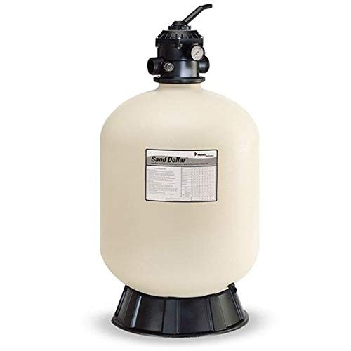 Pentair 145333 Sand Dollar Top-Mount Pool Filter, SD 80 3-1/2-Square-Feet Filtration Area, 75-GPM Flow