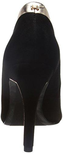 Ted Baker Sayu, Zapatos de Tacón para Mujer Negro (Black/Rose Gold)