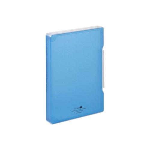 リヒトラブ ファイルケース アクアドロップス A5028-8 B5 青
