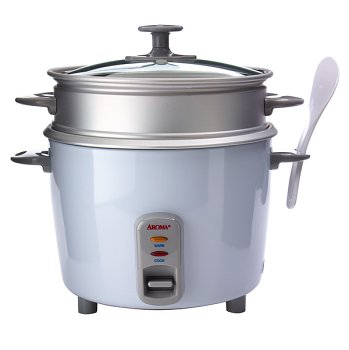Aroma Housewar 10cup Rice Cooker w Steam Tray ARC-720-1G