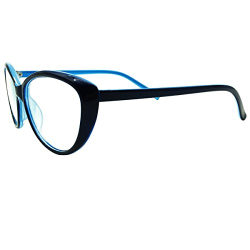 Southern Seas Photochromic Gray Womens Ladies Girls Reading Glasses +0.75 Blue Cateye Style Readers by Southern Seas