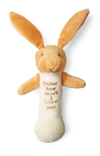Guess How Much I Love You Rabbit - Guess How Much I Love You Nutbrown Hare Stick Rattle