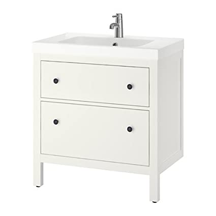 Amazoncom Ikea Sink Cabinet With 2 Drawers White 31 1