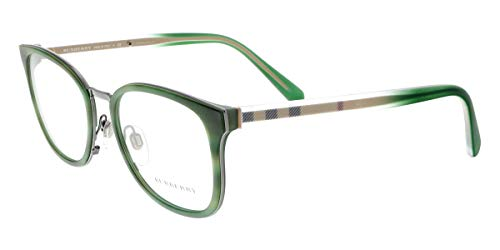 Burberry Men's BE2256 Eyeglasses Striped Matte Green ()