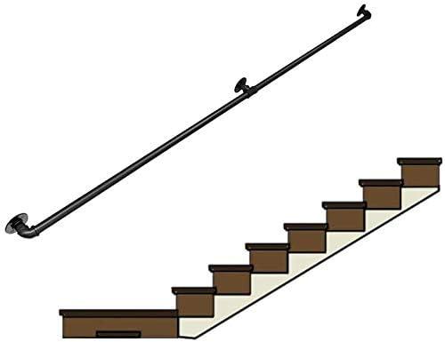 Barandilla Barandilla de Escalera de Hierro Forjado, Industrial ...