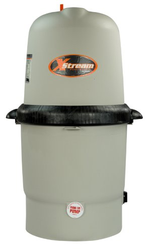 Hayward XStream CC1000 Above Ground Pool Cartridge Filter | More Efficient | Large Filtering Body | 150 - Filter Hayward Body