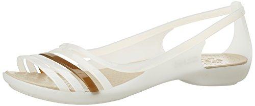 Bailarinas Mujer walnut Para Bianco Isabella Crocs Huarache oyster PxqC4R