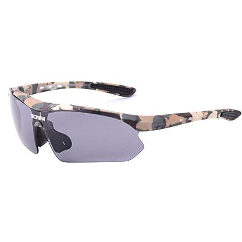 Sports Sunglasses Cycling Running Glasses (Camouflage, - Camo Bans Ray