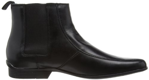 Hush Puppies Moderna Chelsea BK WP - Botines chelsea de cuero hombre, negro - Noir (Black Leather), 39.5 (6 UK): Amazon.es: Zapatos y complementos