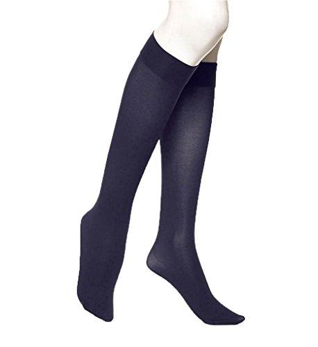 - Hue Soft Opaque Knee High (5304) 2/Navy
