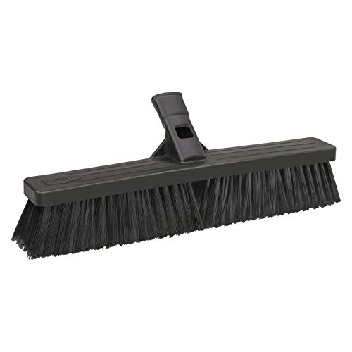 SWOPT 18 Standard Multi-Surface Push Broom Head - Push Broom for Indoor and Outdoor Use - Interchangeable with Other SWOPT Products for More Efficient Cleaning and Storage, Head Only, Handle Sold Separately, 5137C4