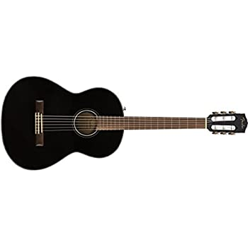 fender cn 140sce nylon string acoustic electric guitar with case concert body. Black Bedroom Furniture Sets. Home Design Ideas