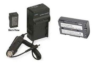 Batería + Cargador para Panasonic CGR-D120, Panasonic cgr ...