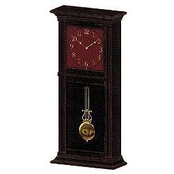 Seiko QXM484KLH Merlot Classic Twelve Hi-Fi Melodies Clock