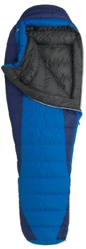 Marmot Sawtooth Long X-Wide Down Sleeping Bag, Long-Left, Blue, Outdoor Stuffs