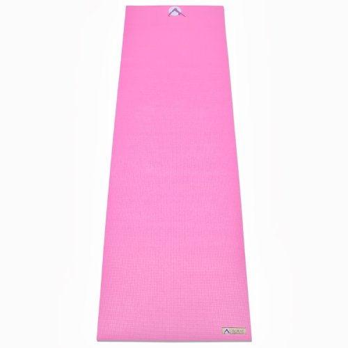 Aurorae Classic/Printed Extra Thick and Long 72 Premium Eco Safe Yoga Mat with Non Slip Rosin Included