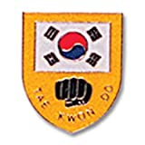 Tiger Claw Uniform Pin - Tae Kwon Do Shield Pin