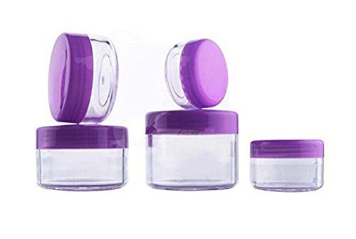 3ml/5ml/10ml/15ml/20ml Round Shape Empty Refillable Travel P