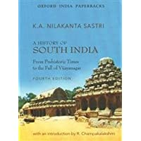 A History of South India: From Prehistoric Times to the Fall of Vijayanagar