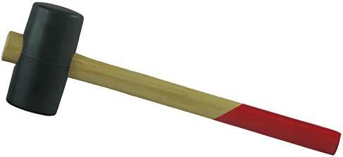 Gummihammer, Kopf-Ø 40 mm, mit Holzholzstiel