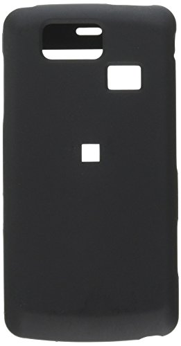 Reiko Fashionable Perfect Fit Hard Protector Skin Cover for LG Versa Vx9600 Verizon - Retail Packaging - Black