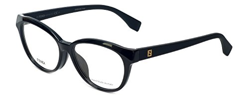 Fendi Rx Eyeglasses - FF0044 F Black / Frame only with demo - Glass Fendi Frames