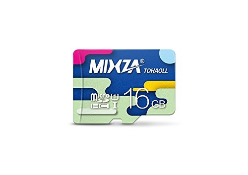 Performance Grade 16GB Samsung Galaxy S8 MicroSDHC Card by MIXZA is Pro-Speed, Heat & Cold Resistant, and buitl for Lifetime of Constant Use! (UHS-I/3.0/80MB/s)