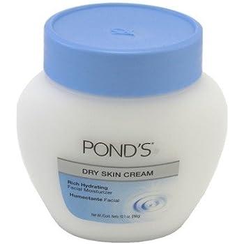 Ponds Dry Skin Cream 10.1 Ounce Jar (298ml) (6 Pack)