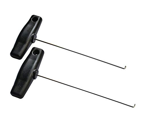 (ITEQ Mercedes Instrument Cluster Removal Pulling Hooks Tool Set OEM )