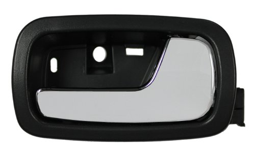 LatchWell PRO-4001541 Passenger Side Front or Rear Interior Door Handle in Black & Chrome for Chevy Cobalt & Pontiac G5