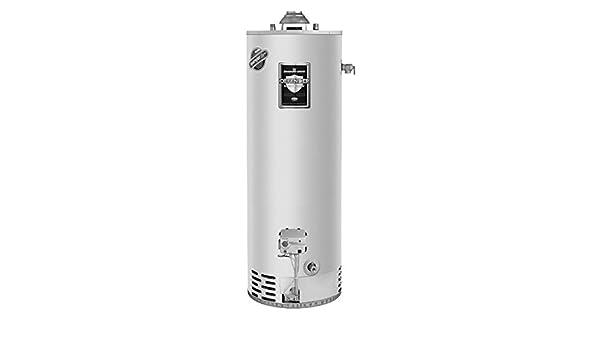 Bradford blanco rg250t6 X -475 N2015 50 Gallon propano gas Calentador de agua: Amazon.es: Coche y moto