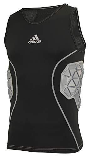adidas Men's BLK TF IRONSKIN 3 PAD T Size L
