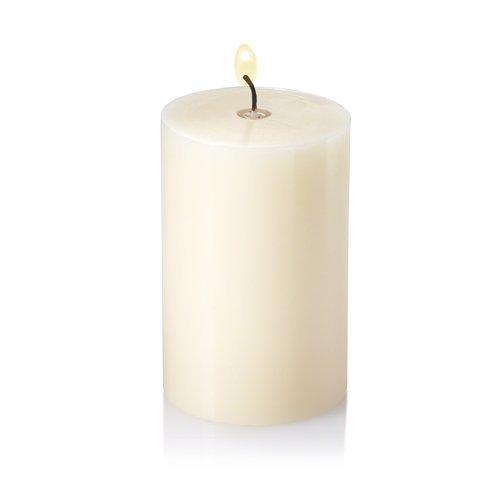 "Richland 2"" x 3"" Ivory Pillar Candles Set 20"