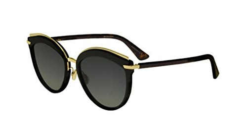 New Christian Dior OFFSET 2 WR7/86 Black Gold Havana/Grey - Offset Sunglasses