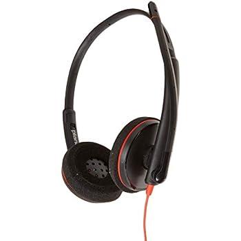 03243a38f67 Amazon.com: Plantronics HW261N Binaural Headset: Computers & Accessories