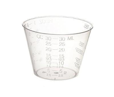 Non-Sterile Graduated Plastic Medicine Cups, 100 Count