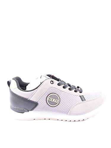 Colmar, Uomo, Travis Drill 018 Gray, Pelle / Suede, Sneakers, Marrone, 40 EU