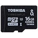 東芝 microSDHCメモリーカード 16GB UHS-I(SeeQVault) MU-SV016G