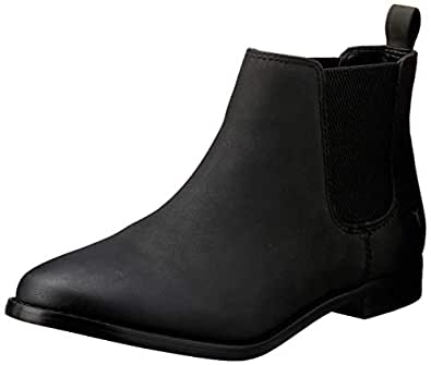 Windsor Smith Women's Fletcher Elastic Side Boot, Black, 6 AU